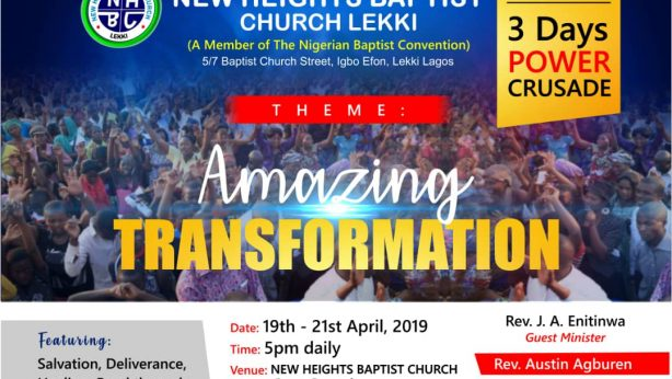 3 Days Power Crusade: Amazing Transformation